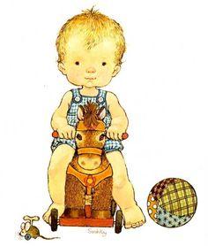 Niño sobre caballito - Sarah Kay
