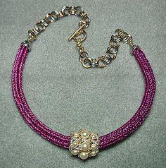 Viking Knit Tutorial - Viking Knit Jewelry Embellishments. $10.00, via Etsy.