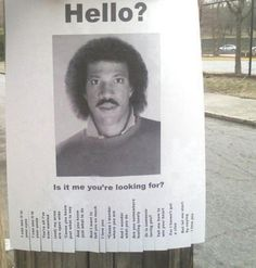I wanna put this up on the bulletin board at my job to see how many people actually get the joke.