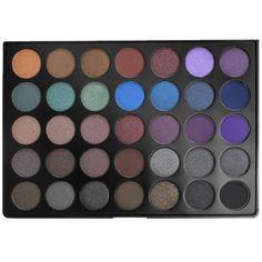 Camera Ready Cosmetics - Morphe 35D - 35 Color Dark Smoky Eye Shadow Palette, $22.99 (http://camerareadycosmetics.com/products/morphe-35d-35-color-dark-smoky-eye-shadow-palette.html)