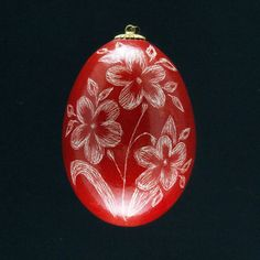 Pysanky Ukrainian Easter Egg Floral Hand by JustEggsquisite, $12.00