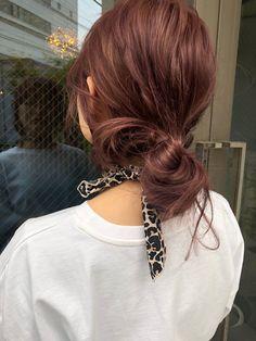 Hair Color Streaks, Hair Dye Colors, Shot Hair Styles, Long Hair Styles, Pelo Color Vino, Red Hair Inspo, Auburn Hair, Dye My Hair, Aesthetic Hair