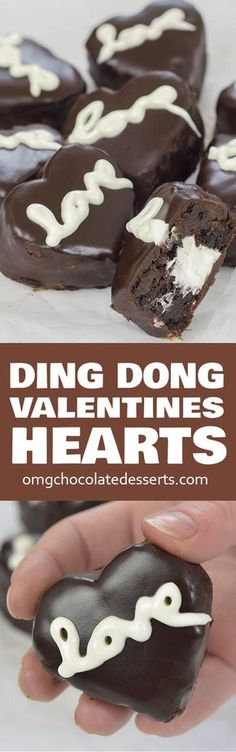 If you are looking for perfect Valentine's treat these Valentines Chocolate Hearts is perfect dessert for you! Check why!!!