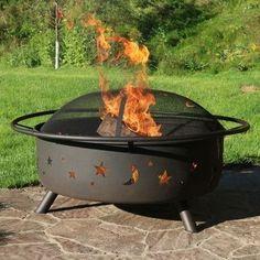 Sunnydaze Large Cosmic Fire Pit- Free Shipping