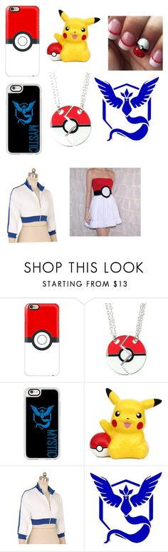 """""""Pokémon go"""" by ms-kitty-cat ❤ liked on Polyvore featuring Casetify, Valor and teammistic"""