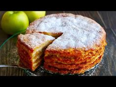 """The Simplest Apple Pie """"Three Cups"""" Amazingly Tasty Easy Baking Recipes, Sweets Recipes, Apple Recipes, Healthy Baking, No Bake Desserts, Easy Desserts, Cooking Recipes, Baking Soda Face, Baking Soda And Lemon"""