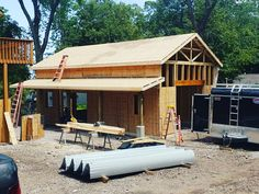 Catawba Island, Ohio Catawba Island, Barn Garage, Pole Barns, Ohio, Cabin, House Styles, Outdoor Decor, Pictures, Home Decor