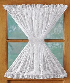 United Curtain Windsor Lace Door Panel   WIND40DNT | Windsor F.C. And  Products