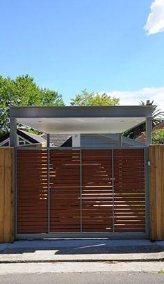 Rad carport love the style dream house pinterest for Carport fence ideas