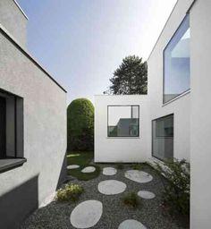 déco intéressante de jardin japonais