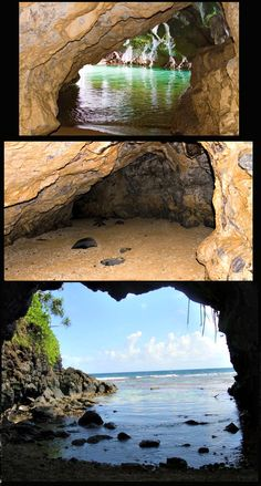 Kauai-A Hidden Turtle Cave On the North Shore not on n e tourist maps. Only locals know about it.