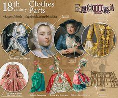 A Brief History of the XVIII century fashion. For the blog Bloshka