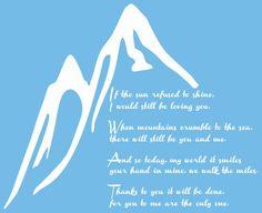 Led Zepplin Thank You lyrics decal by VisualAppeals on Etsy, $15.00
