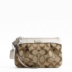Coach wristlet. Would like black or brown
