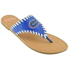 ce24980ba7d NCAA Women s University of Florida Gators Blue Sandal
