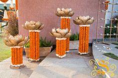 Best site to plan a modern Indian wedding, WedMeGood covers real weddings… Housewarming Decorations, Diy Diwali Decorations, Wedding Stage Decorations, Festival Decorations, Flower Decorations, Wedding Props, Wedding Themes, Wedding Ideas, Decor Wedding