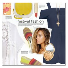 """Festival trend"" by a-a-nica ❤ liked on Polyvore featuring TIBI, Sam Edelman, Ginette NY and Too Faced Cosmetics"