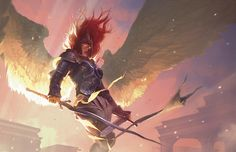 Aurelia, the Warleader from 'Gatecrash' revealed http://www.examiner.com/article/aurelia-the-warleader-from-gatecrash-revealed #mtg