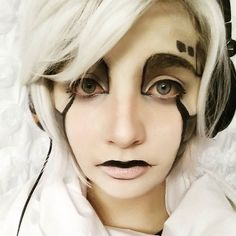 Napstabot cosplay   #cosplay #makeup #undertale #undertalecosplay #napstablook #napstabot #cute #robot #alphys #f4f #sfs #novice #cosplaymakeup #lame #metatton #undertaleau