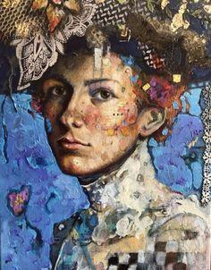 Muriel in Blue and Lace by Juliette Belmonte