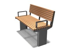 Versa Street Furniture | Timber & Steel Seats & Benches