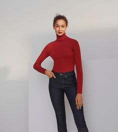 20 Office Casual Style Ideas That Make You Look Cool – New York Fashion New Trends Ribbed Turtleneck, Professional Outfits, Look Cool, Uniqlo, New Trends, New York Fashion, Fashion Outfits, Fashion Trends, Turtle Neck