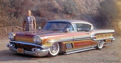 Floyd DeBore's Pontiac.....he was 16 when he had Larry Watson paint this car! cool huh!