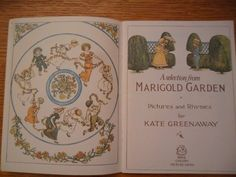 A selection from Marigold Garden by Kate Greenaway 1974 | eBay