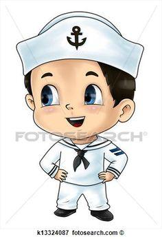 desenhos marinheiros - Pesquisa Google