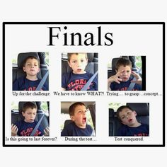 Finals... College life