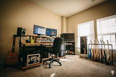 Misha Mansoor's Home Studio