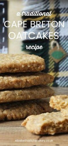A Traditional Cape Breton Oatcakes Recipe #oatcakes #recipe #canada