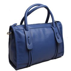 it's a purse, and it's blue...who could ask for anything more?