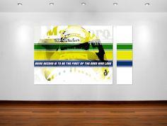 Ayrton Sena quote poster art #posterart