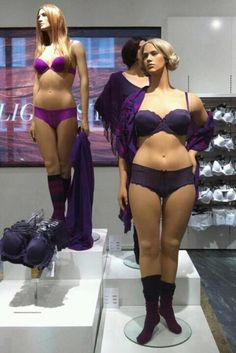 Swedish Mannequins Cause a Controversy | Healthy Living - Yahoo! Shine