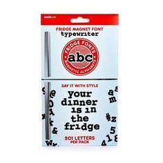 SUCK UK A - Z Alphabet Fridge Magnets, Black, http://www.amazon.co.uk/dp/B00FR8ICQ4/ref=cm_sw_r_pi_awdl_oEs9tb1AR4FST
