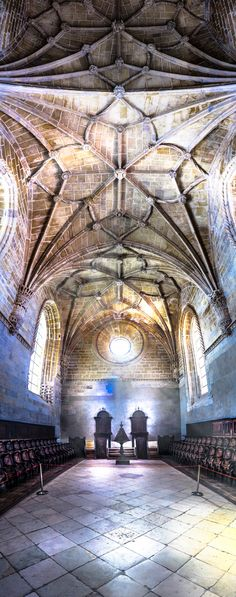 Convento de Cristo, Tomar - Part of the Christ Monestery in Tomar, Portugal