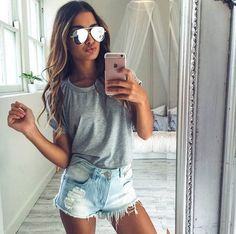 Cute Summer Outfits choosing the right skateboarding shoes for a great and safe Cute Summer Outfits. Here is Cute Summer Outfits for you. Cute Summer Outfits over 150 cute summer outfits ideas the best summer style. Cute Summer Outfits, Spring Outfits, Casual Outfits, Summertime Outfits, Outfit Summer, Short Outfits, Summer Outfits 2018 Teen, Summer Dresses, Spring Break Clothes