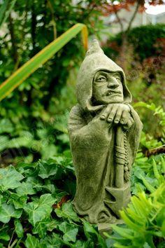 Jake Garden Ornament Gargoyle Sculpture Stone Statue Home Patio Decorative  Gift