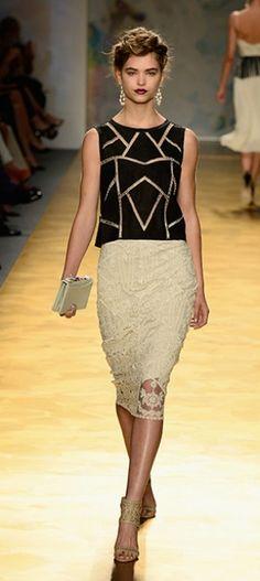 Mercedes-Benz Fashion Week: Nicole Miller Spring/Summer 2014