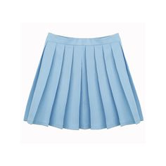 Apparel (288.930 VND) ❤ liked on Polyvore featuring skirts, bottoms, clothing - skirts and blue skirt