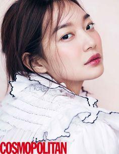 Shin Min Ah - Cosmopolitan Korea March Issue '16