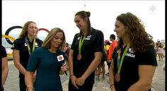 Athletes do have to make many sacrifices to be the best they can be. WATCH Canada's @sandy_mainville - she was part of the 4x100-metre freestyle relay team that won bronze at #Rio2016 last night.