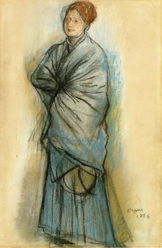 Google Image Result for http://uploads4.wikipaintings.org/images/edgar-degas/woman-in-blue-portrait-of-mlle-helene-rouart-1886.jpg