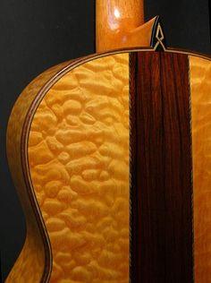 2009 spruce & maple/Brazilian rosewood classical
