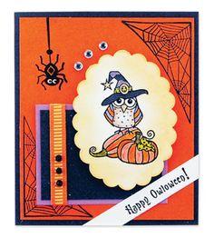"Happy ""Owloween"" Card"