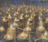 Frank Brunner - Candles Frank Brunner, Candles, Abstract, Buildings, Paintings, Beautiful, Art, Graphics, Kunst
