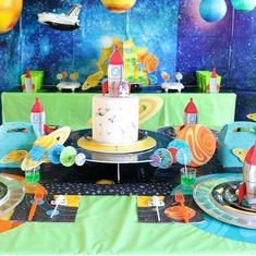 🌎💫🌟This birthday party is out of this world! @sweetlychicevents reached the Milky Way with this stellar party. Click to see all the details and shop this look.  #birthdaypartyideas #partyideas #outterspace #milkyway #stellar #intergalatic #outterspacepartythemes #bithdayparty #itsmybirthday #birthdayinspo #fun365 #orientaltrading