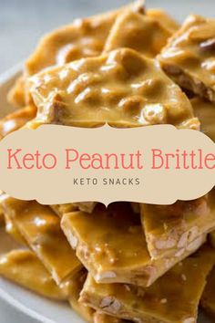 This easy Keto Peanut Brittle is our take on the classic sweet discovered at fetes, fairs, and markets. Our model is sugar-loose, yet nevertheless crunchy and delicious! Low Carb Sweets, Low Carb Desserts, Low Carb Recipes, Diabetic Deserts, Ww Recipes, Peanut Free Foods, Peanut Recipes, Easy Candy Recipes, Dessert Recipes