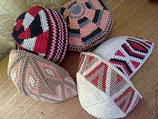 "летняя вязаная шапочка ""тюбетейка"" - летняя шапочка,летний,тюбетейка,Летняя мода 2012 Hand Crochet, Knit Crochet, Crochet Hats, Turbans, Tapestry Crochet, Caps Hats, Boy Outfits, Crochet Patterns, Winter Hats"
